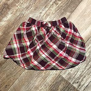 Gymboree Plaid Skirt